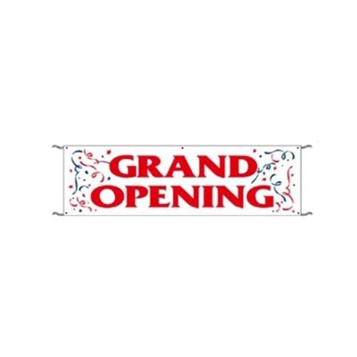 Bh Grand Opening by Grand Opening Banner 3 Ft X 10 Ft Exterior Use With Ropes