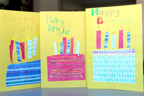 Birthday Cards Made By Toddlers 11 Hobbies We All Enjoyed As Kids Will Make You Go Back To