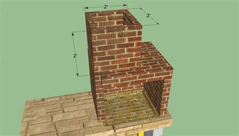 diy pit chimney bbq pit plans howtospecialist how to build step by
