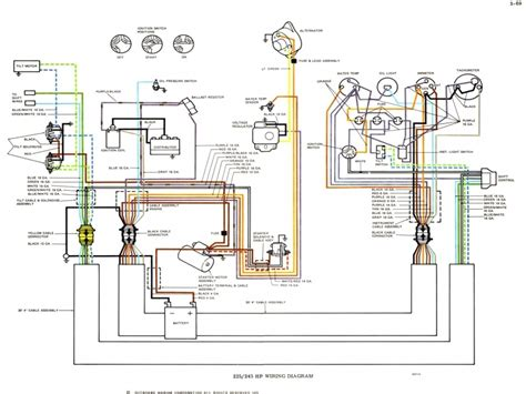 volvo penta ignition wiring diagrams wiring diagram with