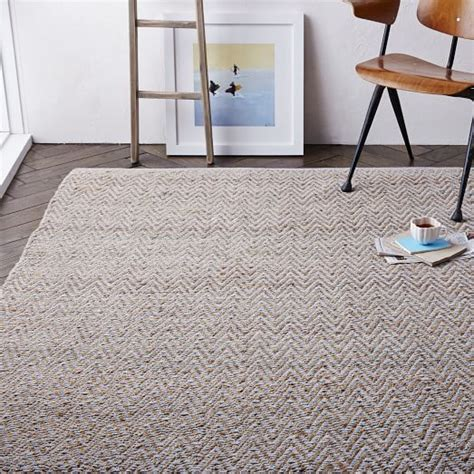jute chenille herringbone rug transform any room in your house with an area rug