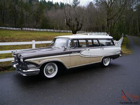 ford edsel wagon 1958 ford mercury edsel bermuda station wagon 32 000