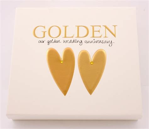 Wedding Anniversary Golden golden wedding 50th anniversary gift photo album gifts