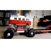 Lego VW Bus T1 Monstertruck  YouTube