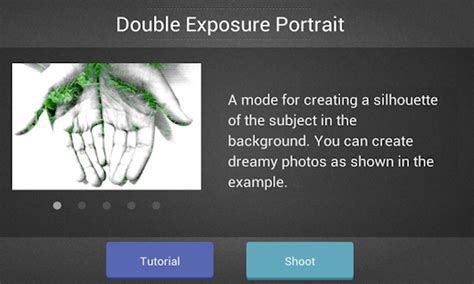 tutorial double exposure di android double exposure android