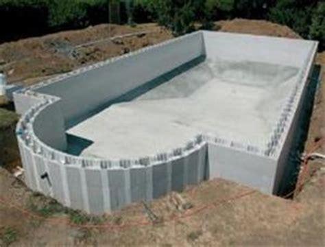 diy inground concrete pool blokit swimming pool kits diy swimming pool self build insulated block system pool build