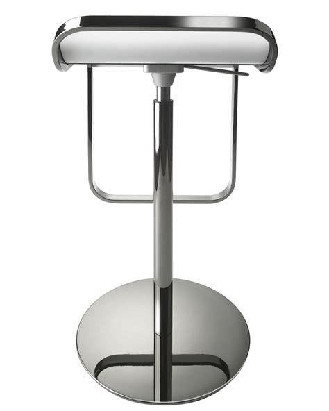 La Palma Lem Bar Stool Replica by Lem Lapalma Top X Lem Lapalma Piston Bar Stool White