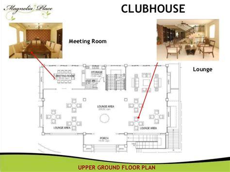 clubhouse floor plans condo for rent quezon city magnolia place