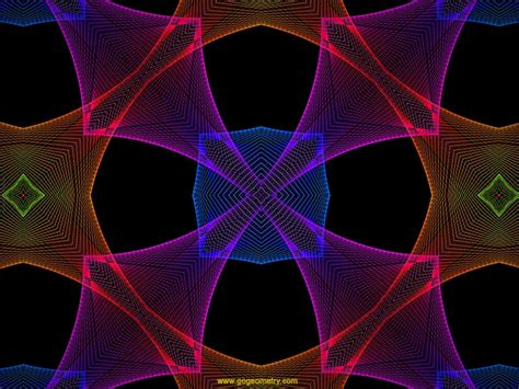 software string 03 b 233 zier geometric pattern