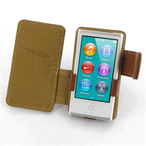 Tunewear Softshell For Ipod Nano 7th And 8th Generation Free Tunefil ipod nano 8th nano 7th leather flip cover brown pdair book