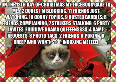 Grumpy Cat Christmas Memes - a grumpy cat christmas memes quickmeme
