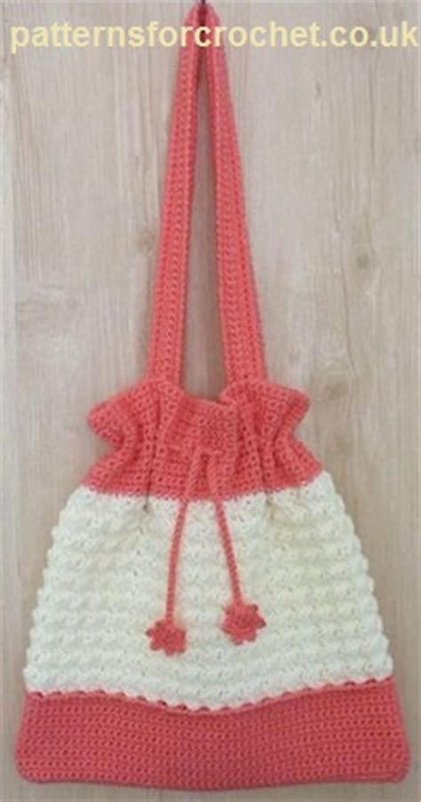 free pattern crochet drawstring bag print this pattern