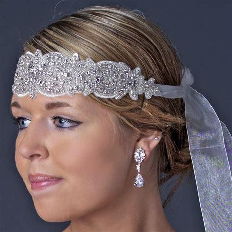 Rhinestone Headpiece geneva vintage rhinestone headpiece bridal hair