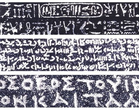 rosetta stone how many languages the rosetta stone has two languages egyptian and greek