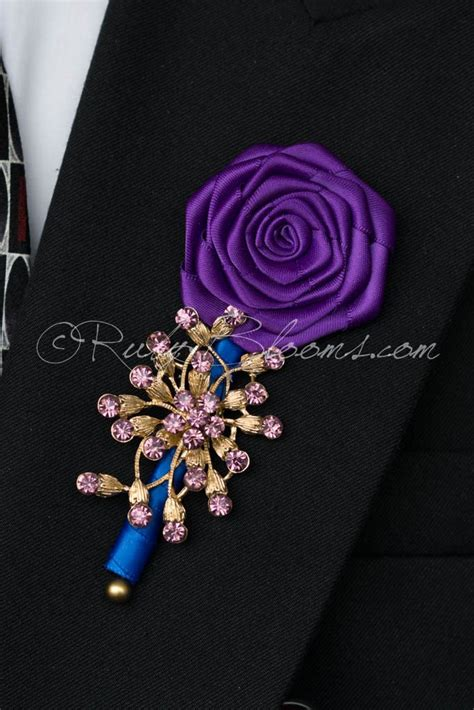 0278a0r South Flowers Pearl Pink pearl pink flowers wedding brooch boutonniere