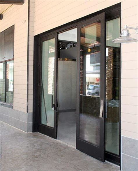industrial front door industrial steel doors exterior