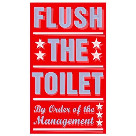 kids bathroom signs bathroom art for kids flush the toilet print 6 quot x 10