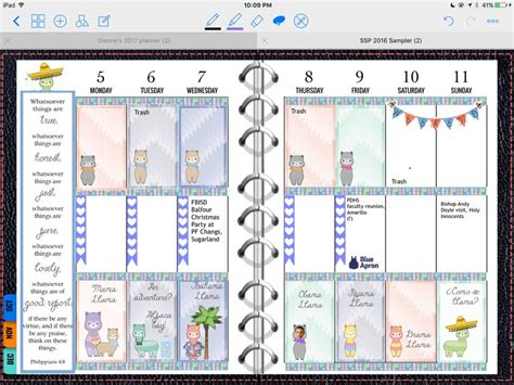 Goodnotes Planner Template Templates Collections Goodnotes Template