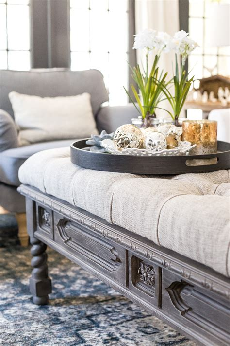 Ottoman As Coffee Table by Diy Ottoman Bench From A Repurposed Coffee Table Bless