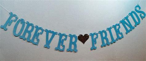 wedding vow renewal banner forever friends garland wedding banner anniversary