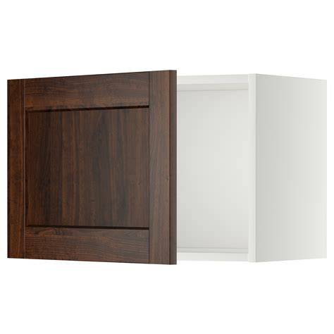 ikea wall kitchen cabinets metod wall cabinet white edserum brown 60x40 cm ikea
