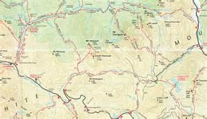 map of us distance trails 4000 footer club mt carrigain page with trail map