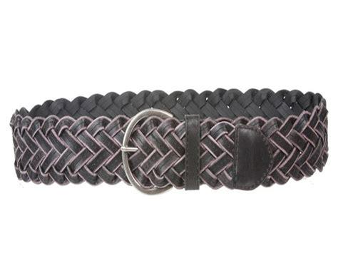 blefer braided leather belt leather4sure