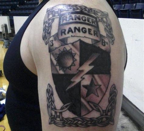 army ranger tattoos pin us army ranger on