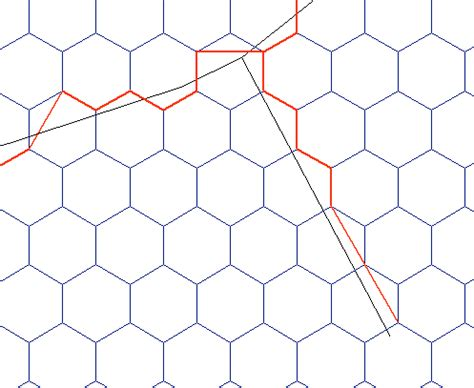 grid pattern road network pyqgis how to snap a road network to a hexagonal grid in