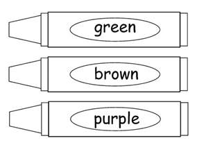 crayon coloring pages teachers r us january 2013