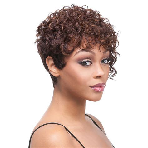 Hairstyle Photos Only Sel by Fluffy Curly Brown Highlight Stunning Synthetic Spiffy
