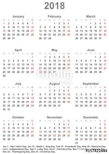 Kalender 2018 Eesti Keeles Quot Einfacher Kalender 2018 Mit Gesetzlichen Feiertagen F 252 R