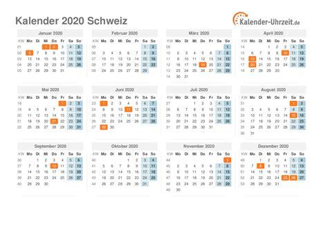 feiertage  schweiz kalender uebersicht