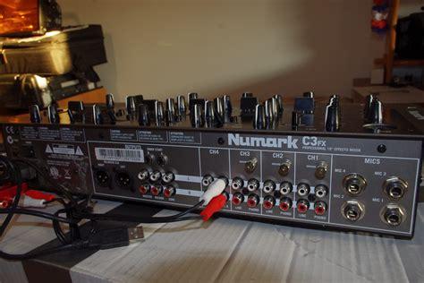 numark console c3fx numark c3fx audiofanzine
