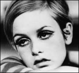 1960s models with hair me my lips eye makeup history 1960 s