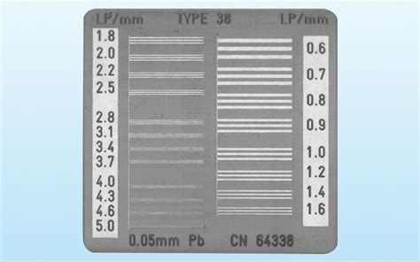 x ray test pattern line pair patterns quart x ray qa and service concepts