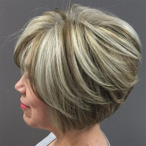 highlights and haircuts for brunettes over 50 hair color highlights for 50 with pictures 50 fab