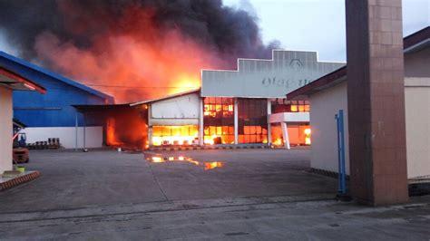 layout pabrik mie instan kebakaran pabrik mie instan di tangerang