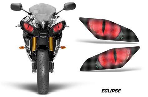 yamaha yzf   sticker seti eclipse red amr racing