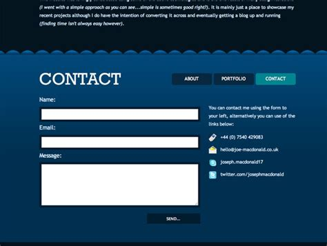 Directory Phone Number To Address 15 Exles Of Well Designed Contact Pages Psdfan