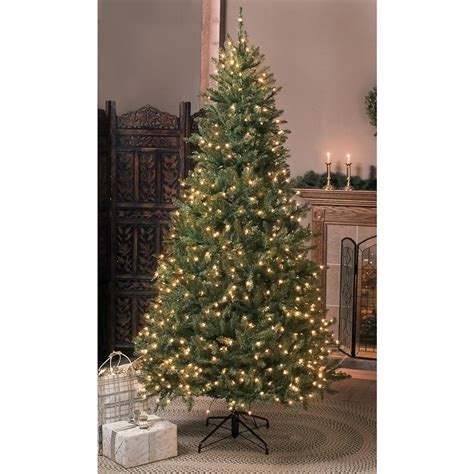 premium 7 1 2 ft pre lit christmas tree 20969 gift