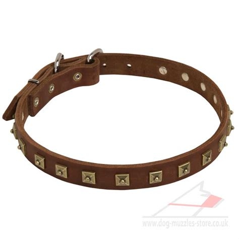 handmade leather collars uk leather collar with