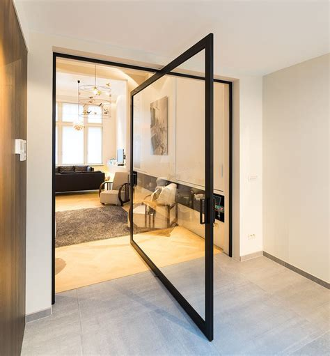 pivot swing door these large pivoting doors are designed to revolve 360