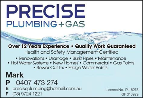 Home Interior Designers Melbourne precise plumbing amp gas wembley downs mark savage 2