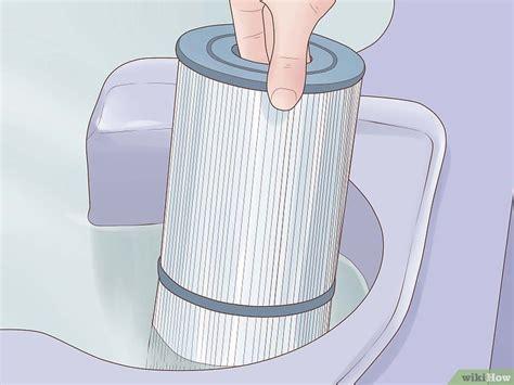 pulire vasca idromassaggio come pulire il filtro di una vasca idromassaggio