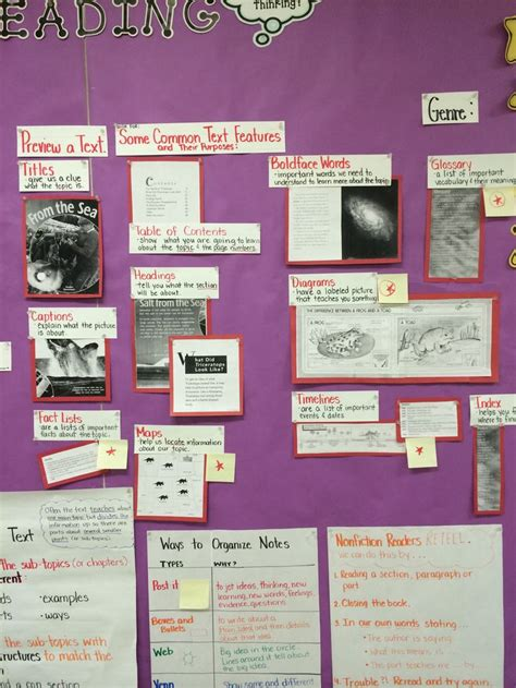 light on a hill informational text anchor charts 17 best images about informational writing charts on