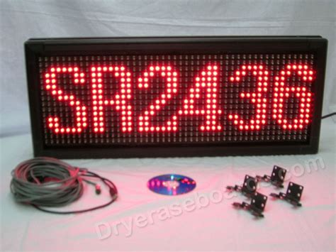 Led Combination L Single single color led indoor outdoor programmable scrolling