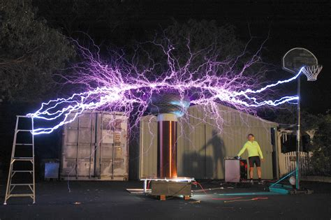 Tesla Coil Uses Today Above Tesla Coil In Courtesy Of Terren Of