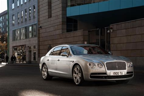 bentley continental flying spur rear bentley continental flying spur by car magazine