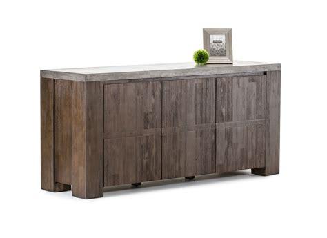 Modrest Urban Modern Concrete Top Buffet Buffet Furniture Modern